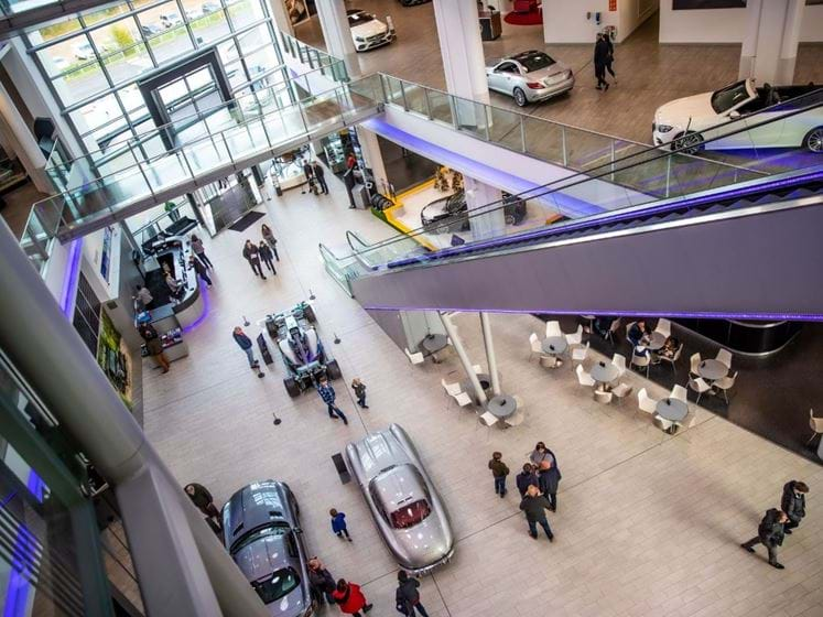 Mercedes-Benz World - Driving Experiences and Days Out